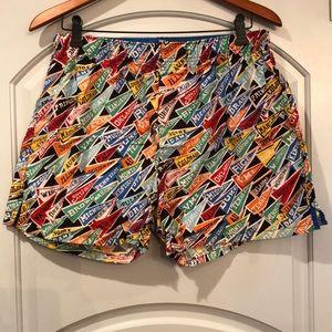 🐙Gap collegiate pennant boxer shorts.